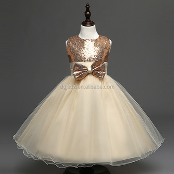F0025#Unique baby frock design baby girl wedding dress kids clothing wholesale