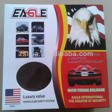 EAGLE one way car alarm system ,remote control range up to 120M