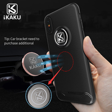 For Iphone X Phone Case,Shockproof Armor TPU PC Combo Case Cover With Ring Stand For Iphone X