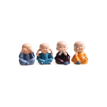 Custom Vinyl Figures, Chinese Monk Figures