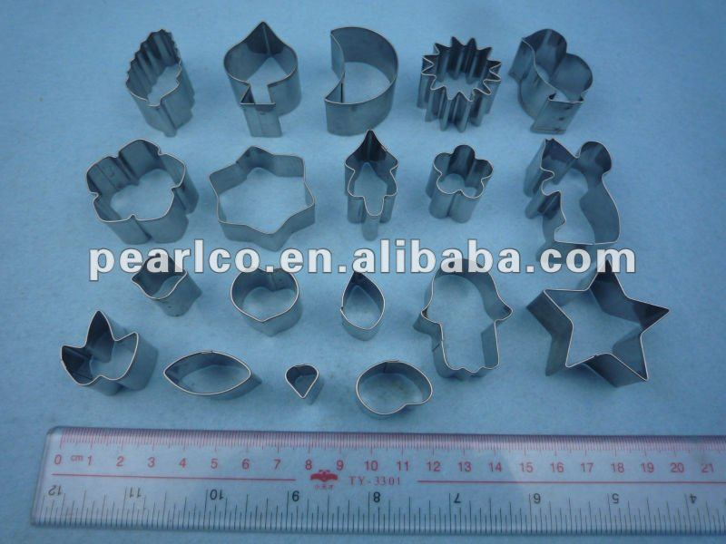 2013 NEW product Eco-Friendly metal High quality Customized design free sample charge cookie cutter pastry cake decoration