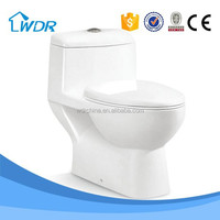 Made in China porcelain one piece toilet anglo indian water closet