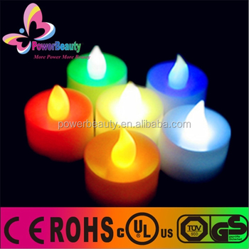 Waterproof IP67 for outdoor use LED flameless candle