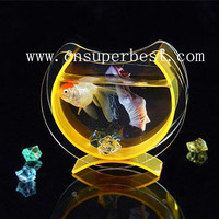 OEM/ODM Made In China Custom Acrylic Betta Fish Tank Aquarium