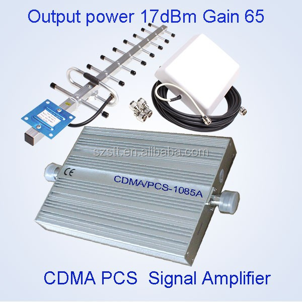 mobile signal repeater/booster for 850mhz /1900mhz dual band booster
