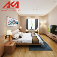 alibaba manfacturer oak Wooden king size bed frame with storage
