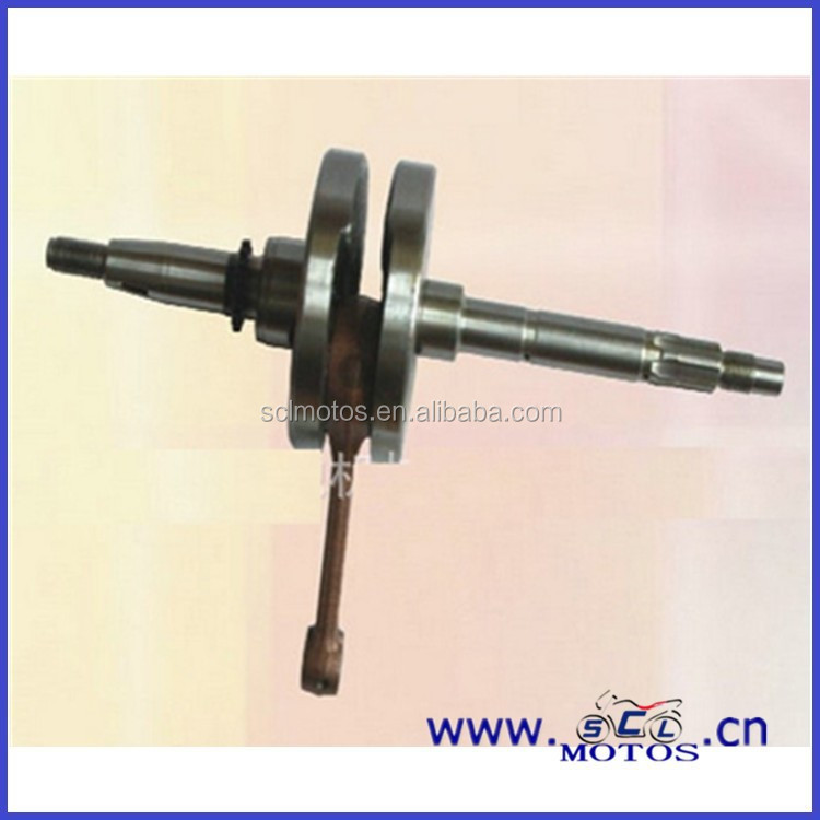SCL-2013030340 Engine crank shaft for suzuki smash motorcycle parts