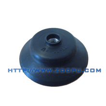 Custom good flexible PU suction cup for wood equipment