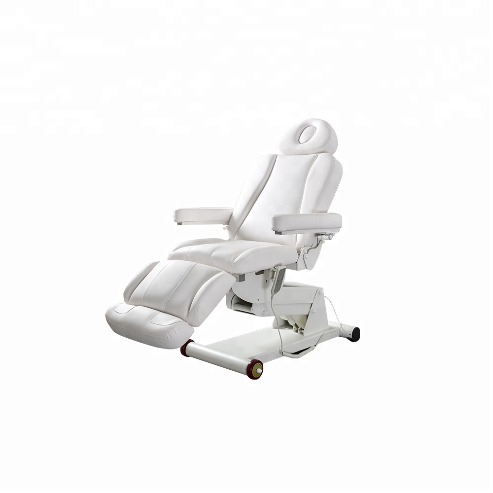 Beauty salon furniture portable massage bed electric facial bed for sale