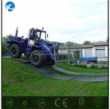 Thick 20mm Solid Ground UHMWPE Traction Mat