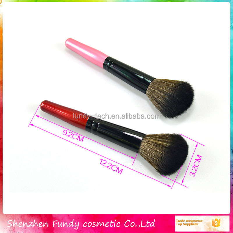 the cosmetics foundation brush black color makeup brushes single makeup brush