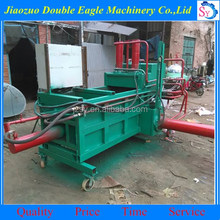 Fully automatic hydraulic straw baling press