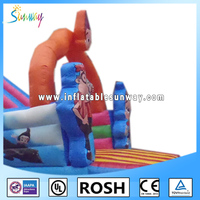 Children commercial outdoor playground inflatable sport game playgroud equipment