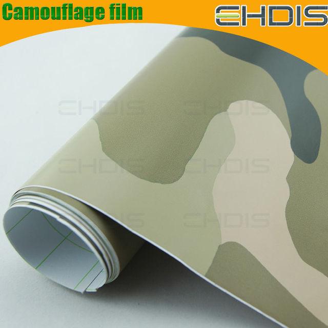 auto body wrapping vinyl film camouflage vinyl wrap