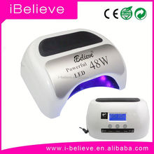 2015 New Innovation!!! 5 Power Ratings adjustable freely from 6w/12w/24w/36w/48w uv led nail lamp lampada unghie led 45 w