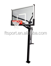 Ultimate Adjustable In-Ground Basketball Post /System with 72 Inch Backboard