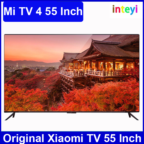 New arrival 55 inch Xiaomi TV 4 Real 4K screen 3840*2160 Ultra HD 2GB ram 8gb rom Corte x A53 Quad Core 1.8Ghz Mi TV 4