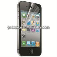 High transparency screen protector for iphone 4 clear screen protector