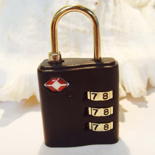 TSA-593 3 digits ABS custom combination padlock