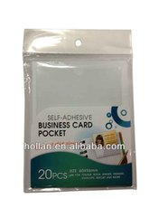 Hot Sale Instant Self-laminating Name Cards