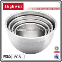 Highwin Stainless Steel deep food mixing bowl