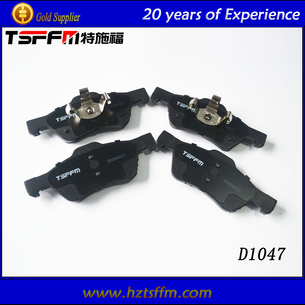 semi-metallic or ceramic material brake pads for Ford auto