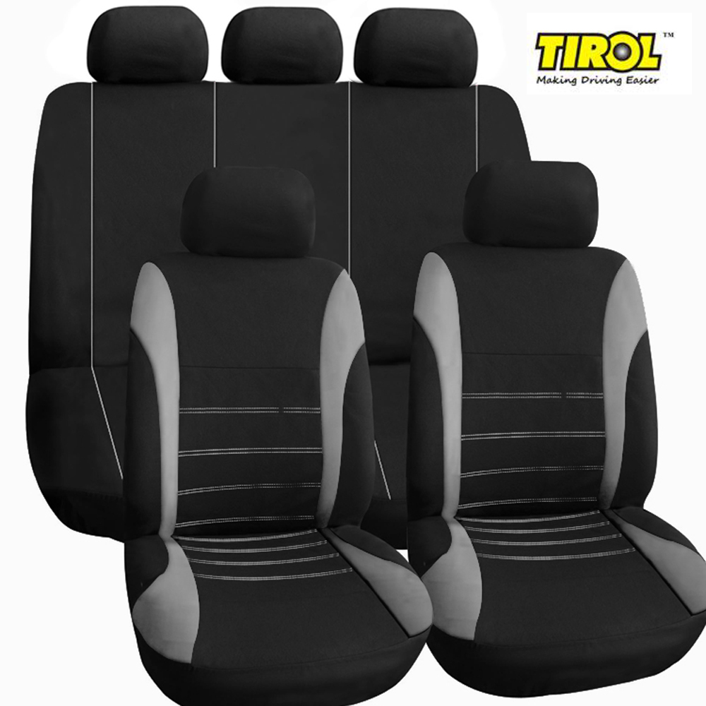 Polyester Car Seat Cover For Auto Toyota Ford Lada Honda Protector 9in1 Headrest
