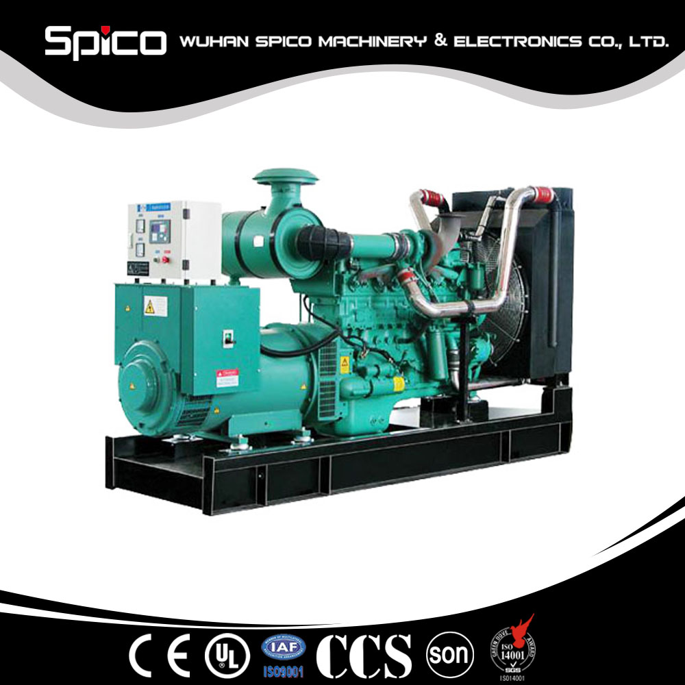 Jet iso9001 generator set price list