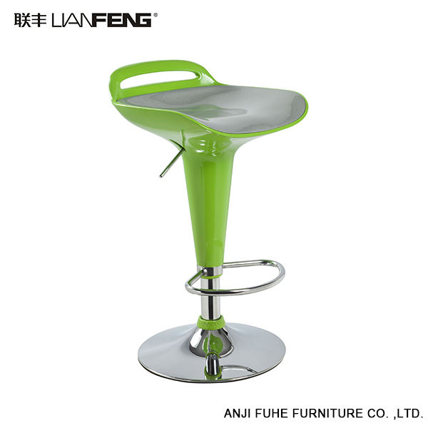 Wholesale commercial green swivel lift bar stool chair