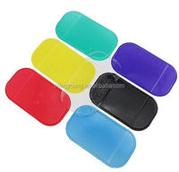 High quality car dashboard mobile phone anti slip silicone sticky pad