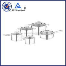 enamel cookware pot set professional manufacture in steel kitchenware products