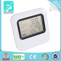 Fupu Best sell high quality color screen table alarm clock with thermometer humidity weather forecast weather station clock
