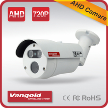 1.0mp Ahd Camera With 3.6mm fixed lens waterproof bullet proof 720p Ahd Cctv Camera