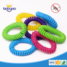 Deet free flexible eva coil mosquito repellent bracelet china mosquito coil for baby