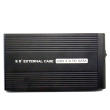 factory price 3.5inch sata USB3.0 high speed HDD CASE Supports 2T large-capacity hard disk enclosure