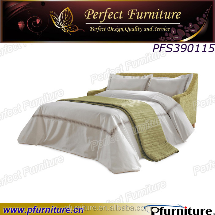 Love seat living room high density foam unfold sofa bed.