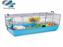 pet product plastic bottom rabbit hutch/rabbit breeding cages