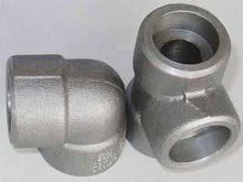 astm b16.11 DN40 1 1/2 INCH 90 degree socket weld forged pipe fittings elbow Class 9000 LB