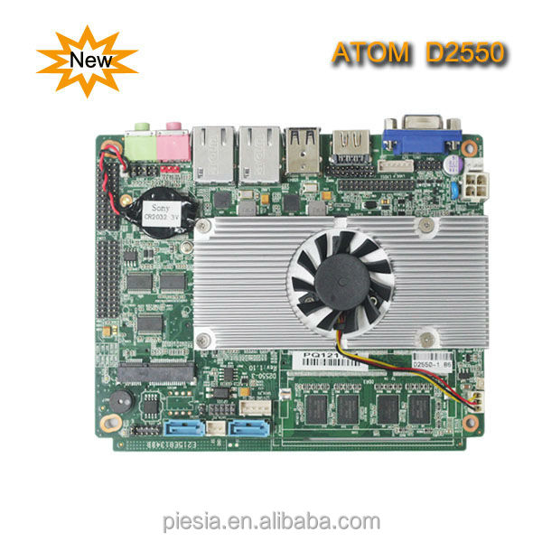 3d model motherboard Industrial Motherboard D2550 with New Model of Motherboard