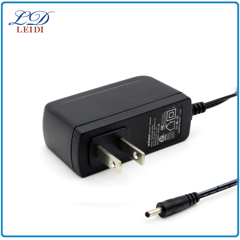 UL CUL US standard wall mount 5.5v ac dc power adapter