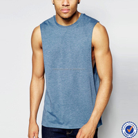 manufacture new arrive men blank drop armhole tank top