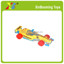 Promotion candy toy pull back F1 racing car toy set