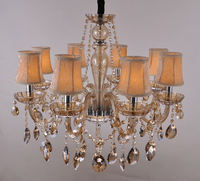 Hot sale glass lighting chandelier crystal wall lamp