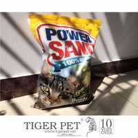 new factory supply bentonite cat litter cat sand clean