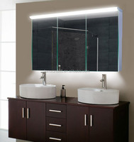 Modern vanity fair bathroom cabinet mirrored furniture