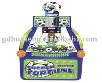 HF-RM006 Soccer Fortune, coin pusher electronic Amusement arcade game Machine