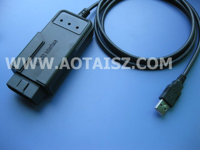 Benz Test OBDII Flat Cable Interface