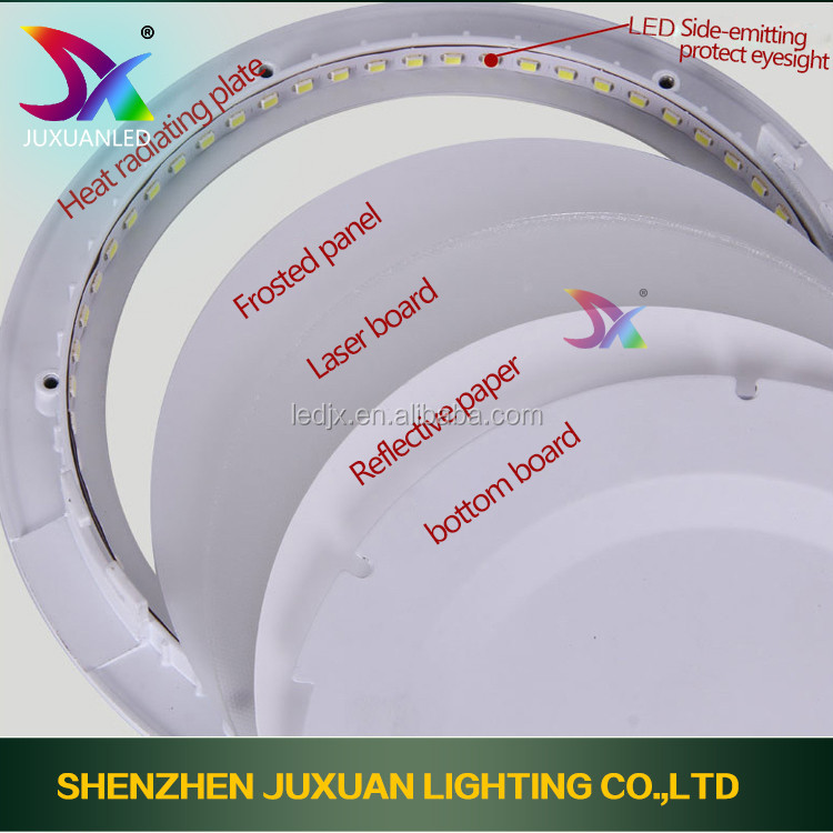 High quality dalen led ceiling light 9-24W Dimmable Round ip67 outdoor led surface ceiling light
