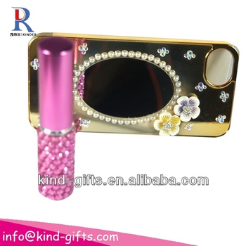 New Bling Rhinestone Mirror Case Phone Cases For Cheap With Mirror