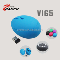 egg shape 2.4G wireless mouse V-165